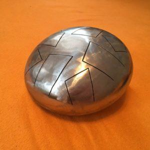 Глюкофон серебряный 22см